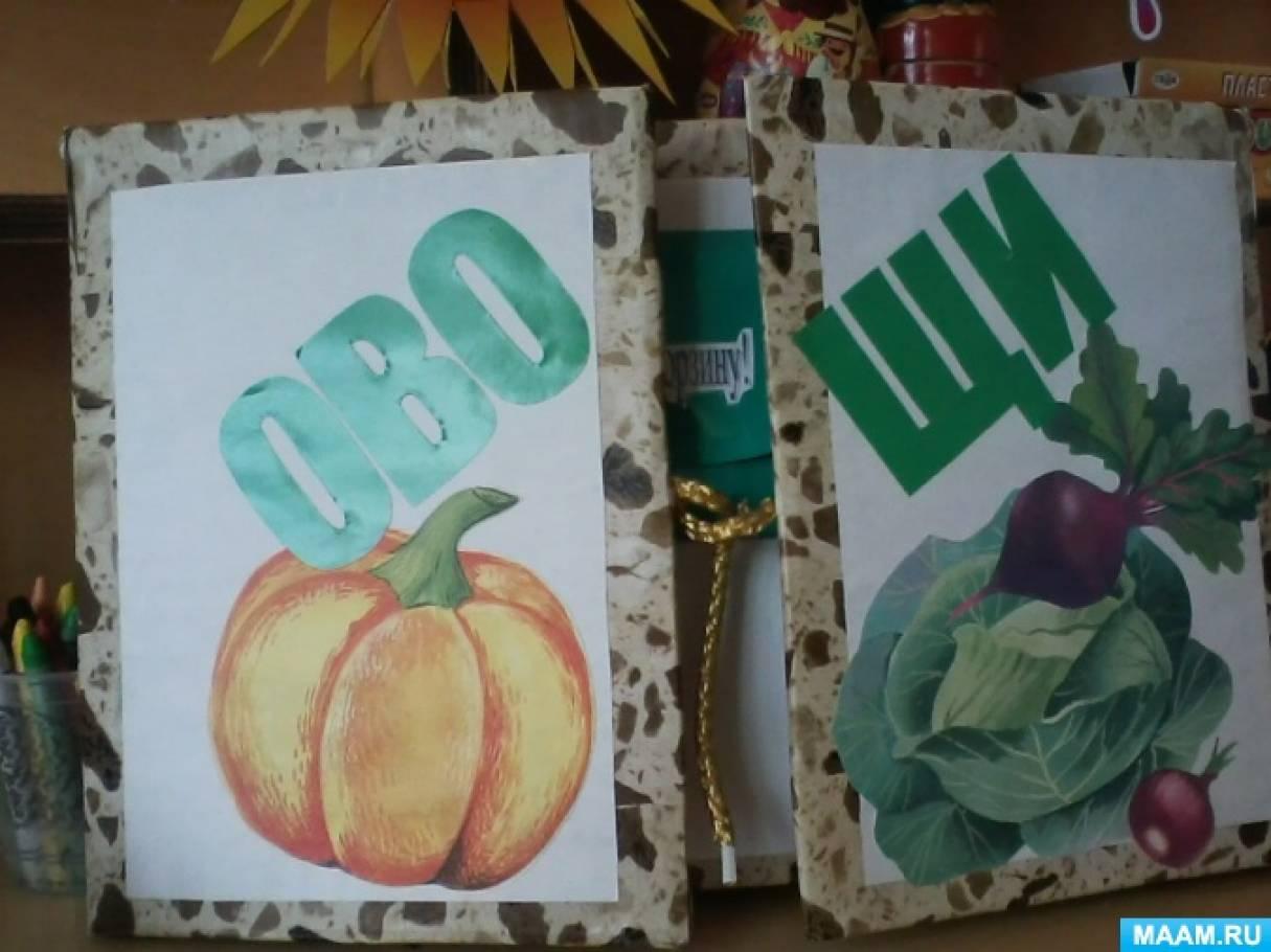Лэпбук «Овощи»