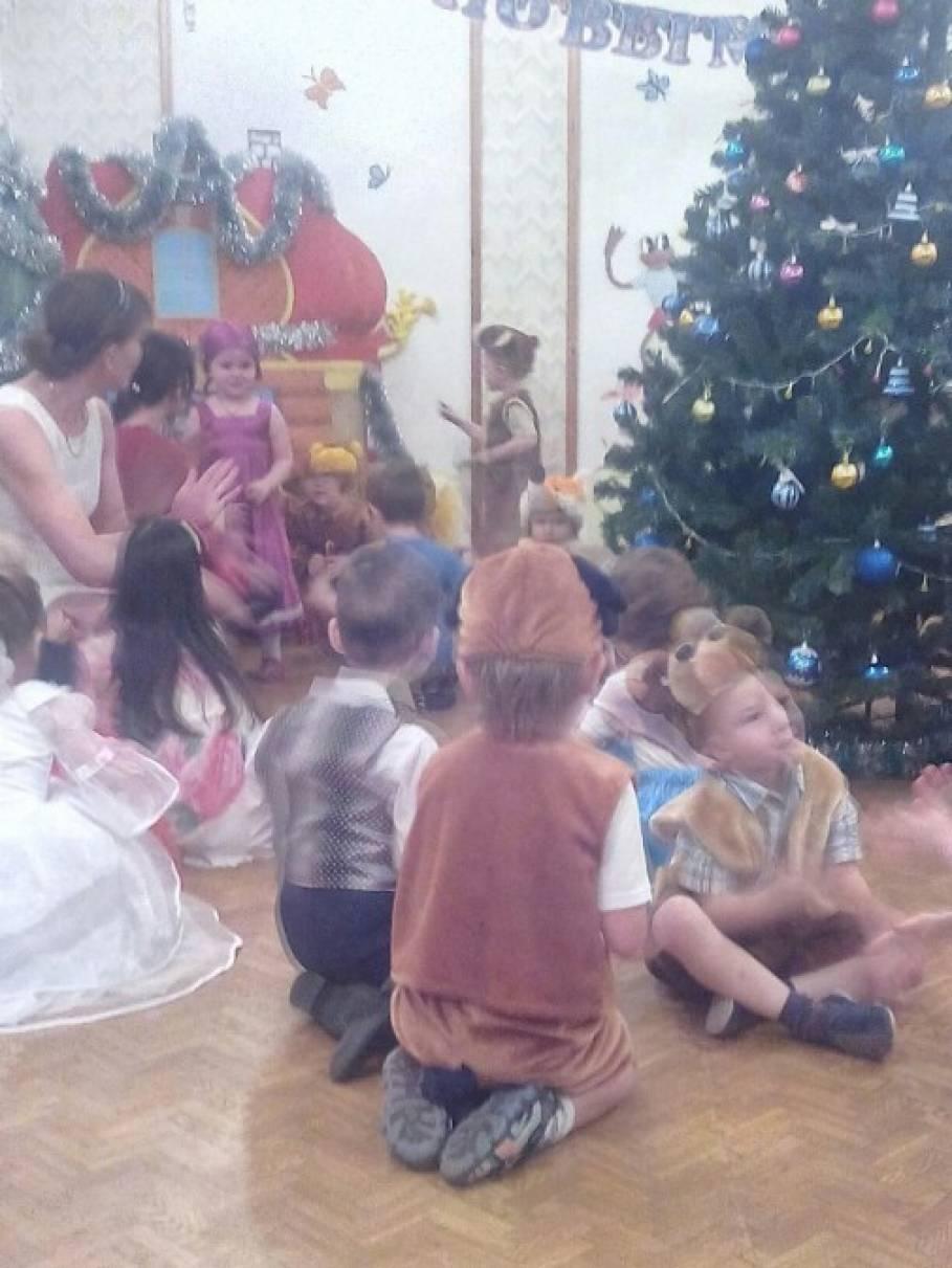 Фотоотчет о жизни детского сада в декабре и январе