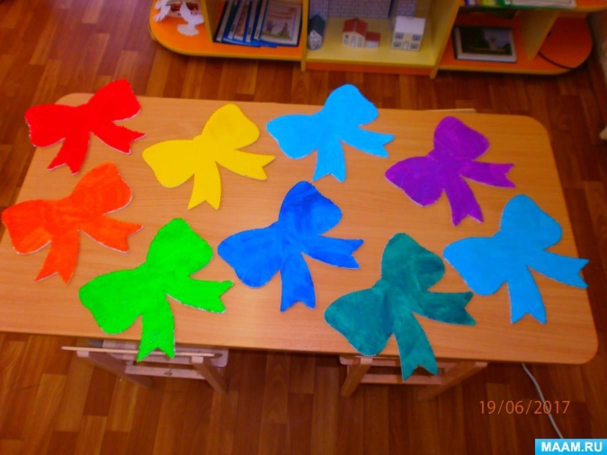 Мастер-класс по изготовлению бантиков из потолочной плитки