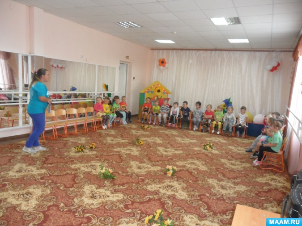 Сценарий спортивно-развлекательного мероприятия для детей второй младшей группы «К зайке в гости»