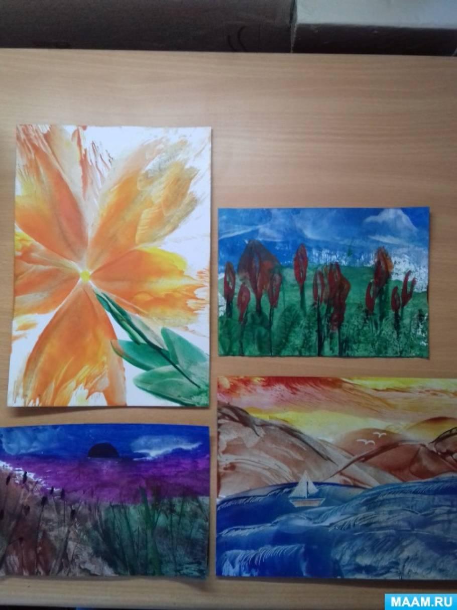 Мастер-класс «Рисование утюгом»