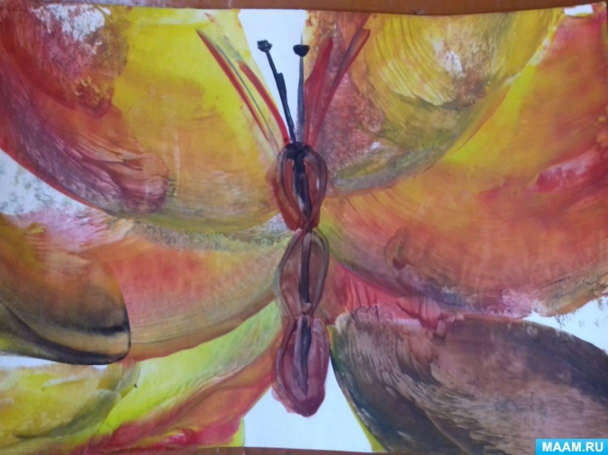 Фотоотчет по рисованию утюгом «Энкаустика»