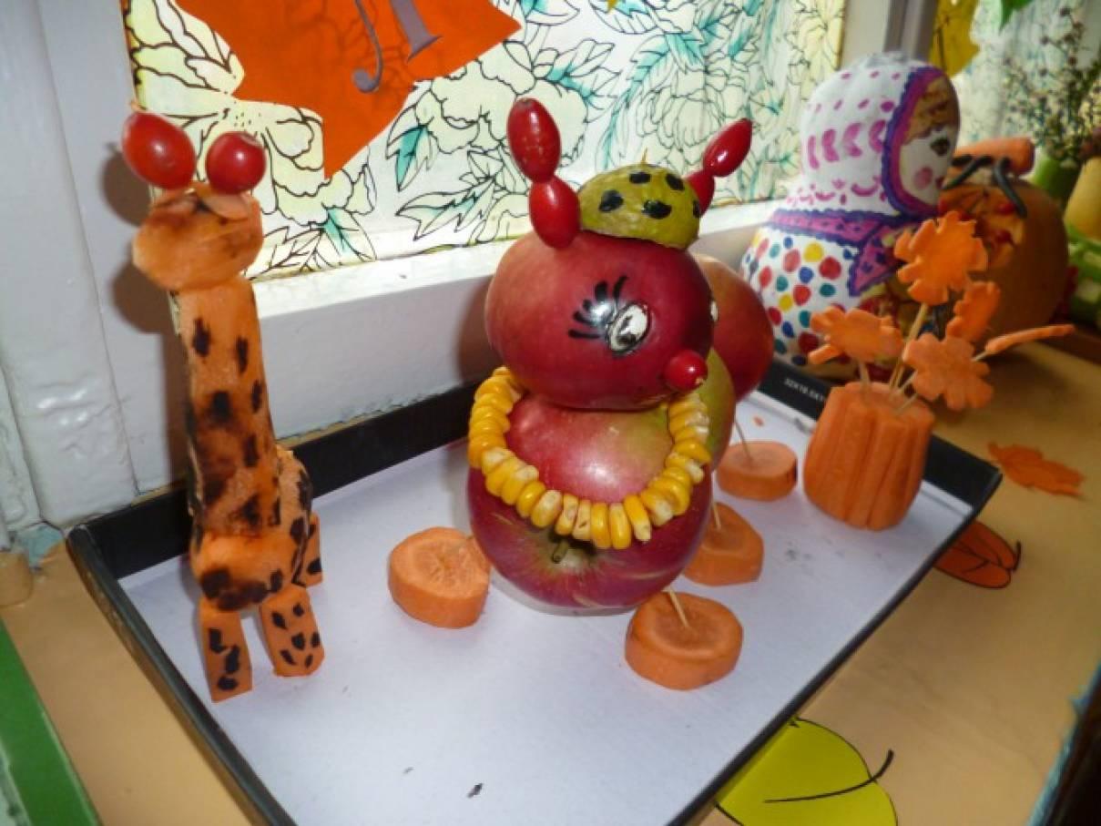 Осенние композиции поделки для детского сада