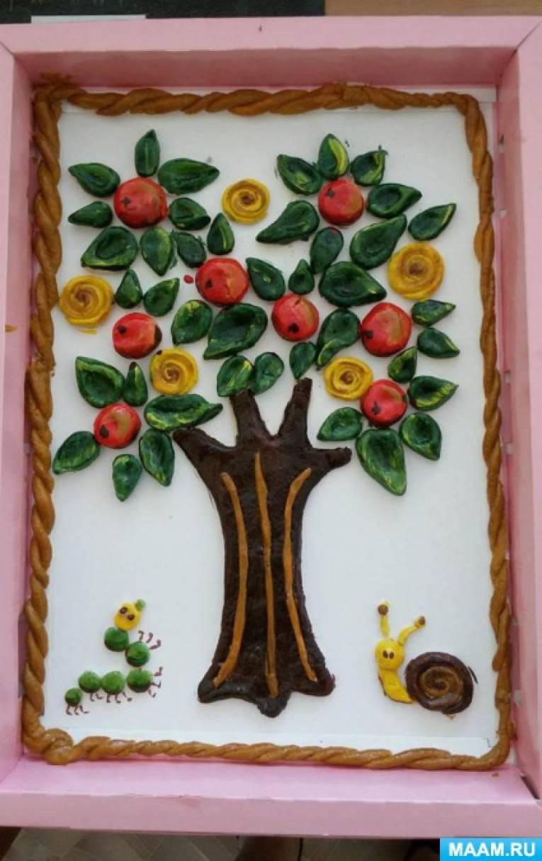 Конспект занятия по тестопластике «Хлебное деревце»