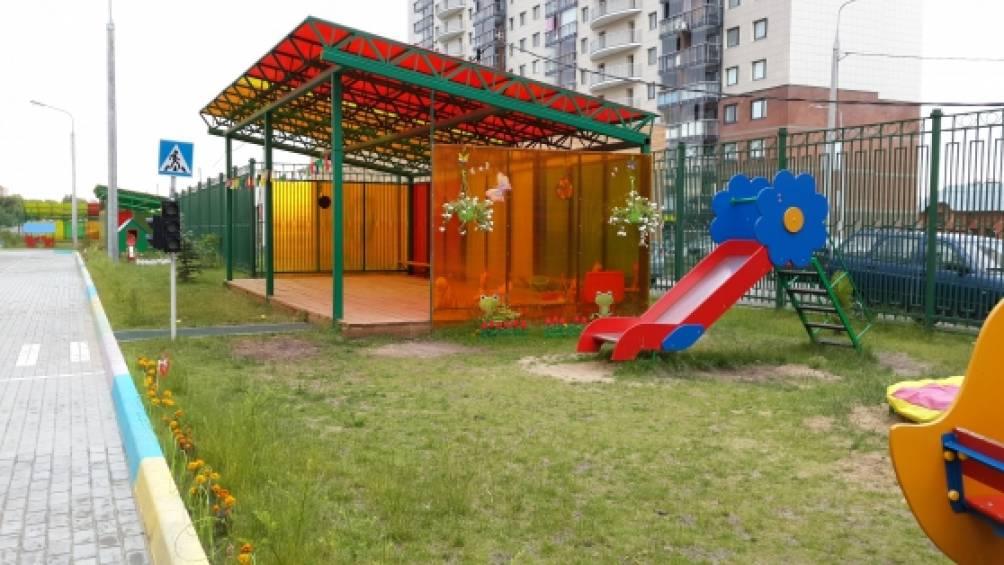 Самый лучший участок в детском саду