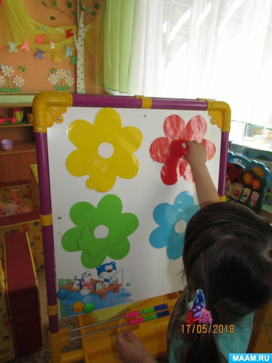 Дидактическая игра «Бабочки –живые цветы»