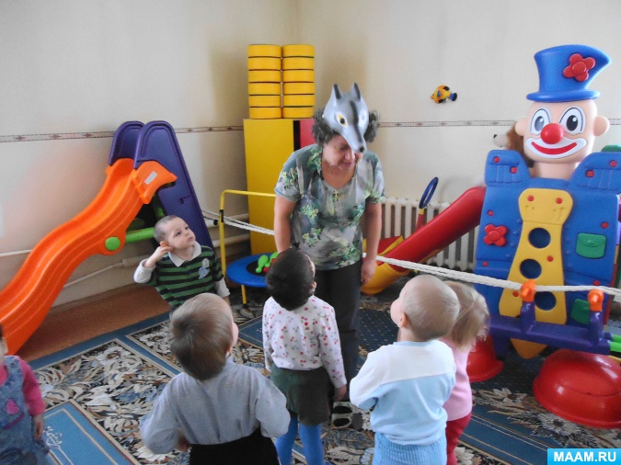 Физкультминутки для детей раннего возраста