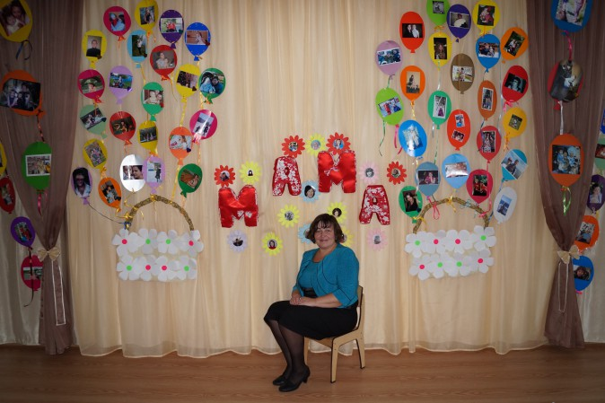 Оформление зала на день матери в детском саду своими руками