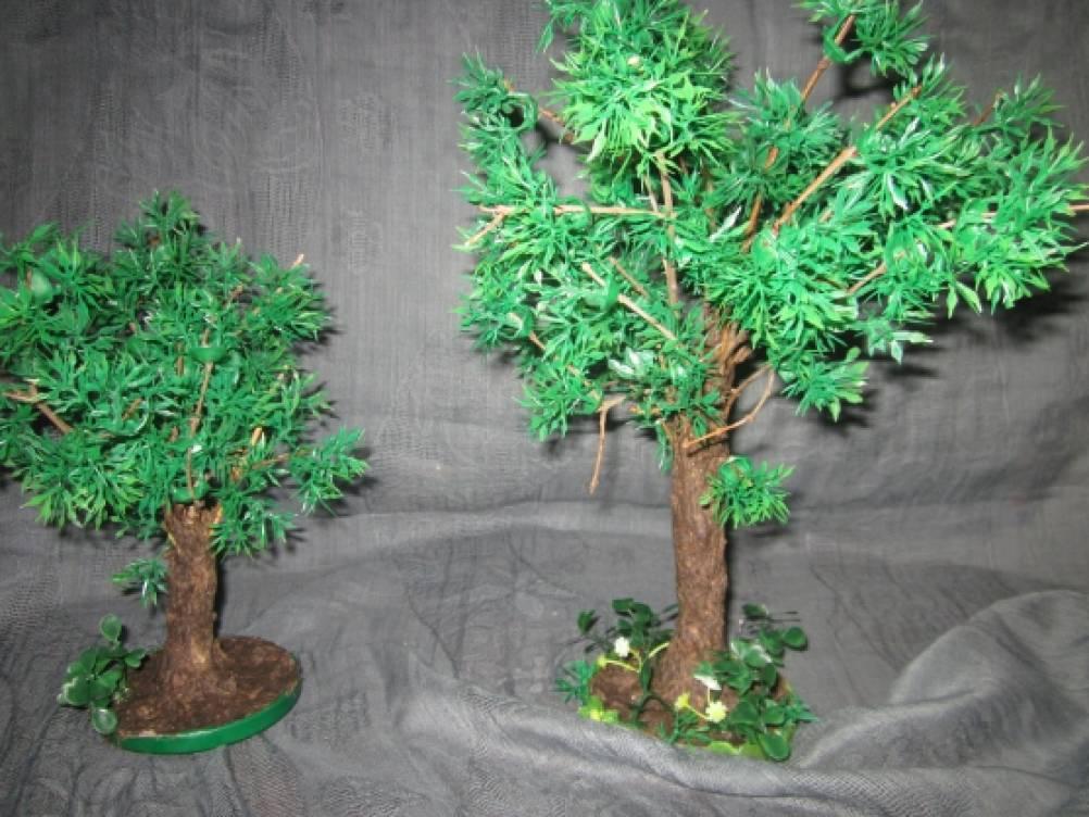 Деревья макеты своими руками