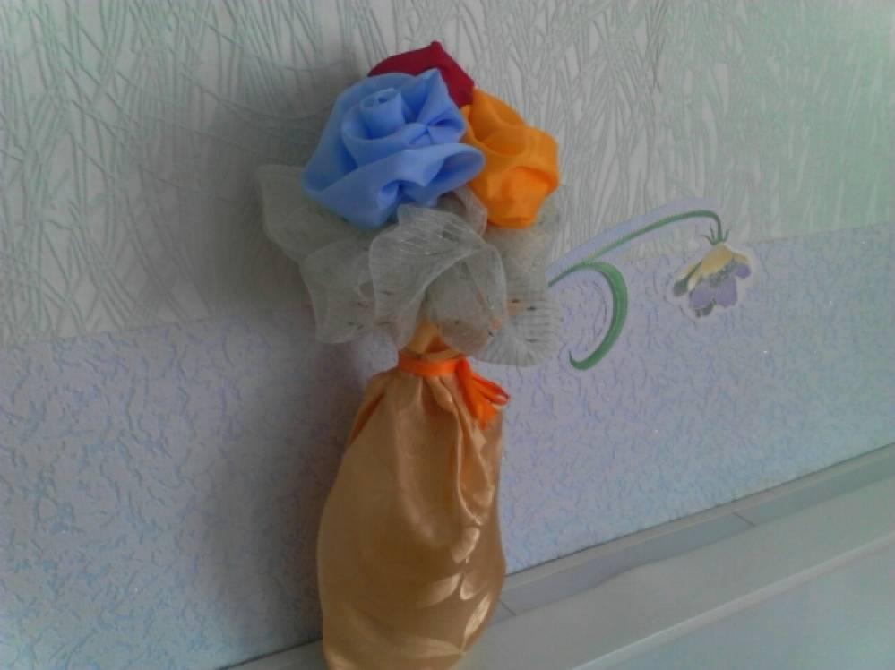 Фотоотчет о конкурсе поделок «Цветочные фантазии»