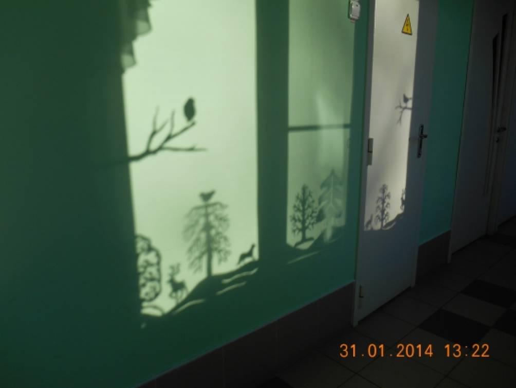 Трафареты для оформления окна к новому году в детском саду