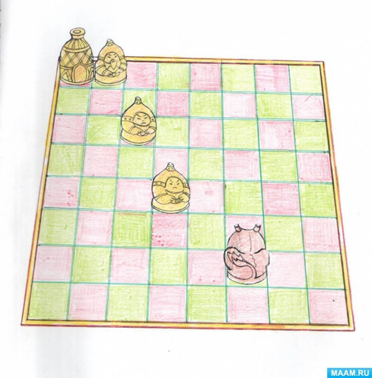 Настольные игры «Олоҥхо дойдутугар» для детей старшей группы