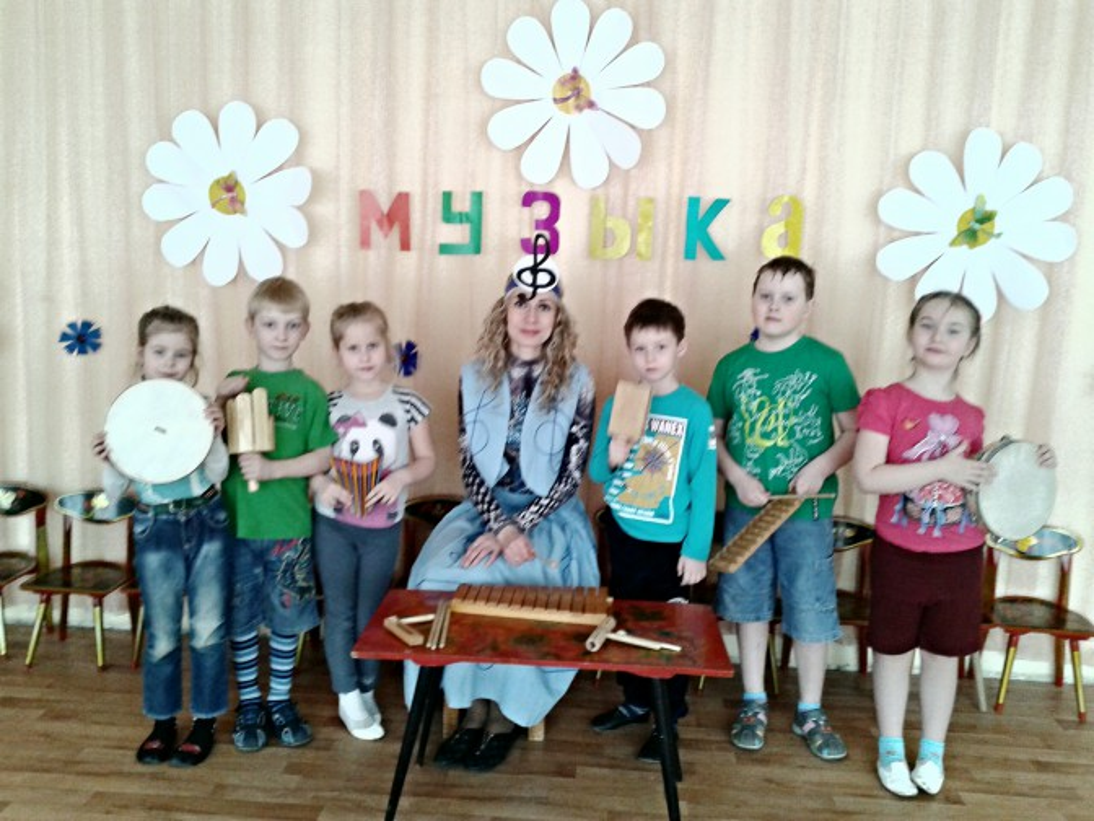 Проект для детей старшего дошкольного возраста «День музыки в детском саду»