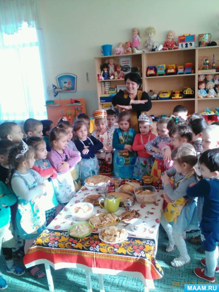 как знакомить детей с народными праздниками и традициями