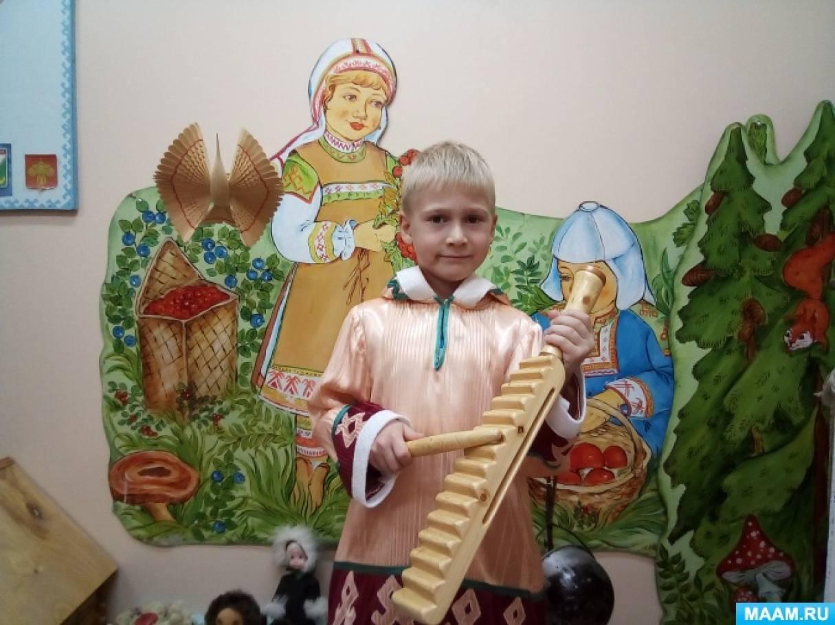 Фотоотчет «Коми народные музыкальные инструменты»