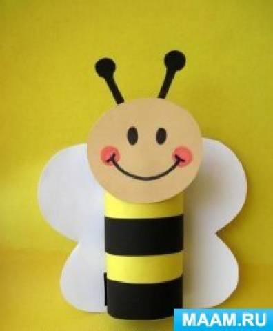 КОП «Моделирование пчелки из бросового материала»