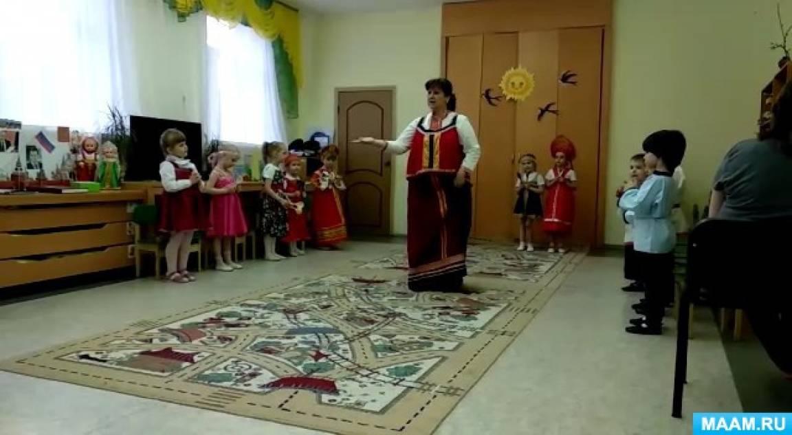 Фольклорный праздник с родителями «Сороки» (средняя группа)