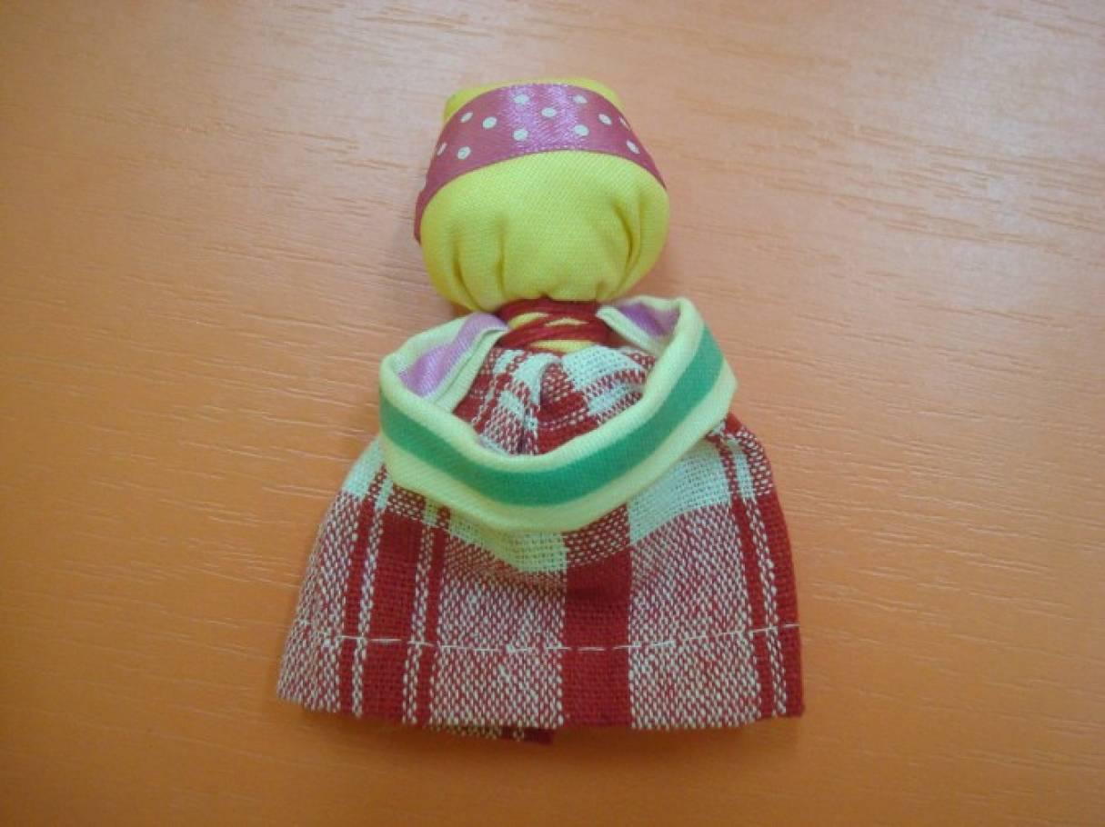 Мастер-класс для воспитателей по изготовлению тряпичной куклы-оберега «Подорожница»