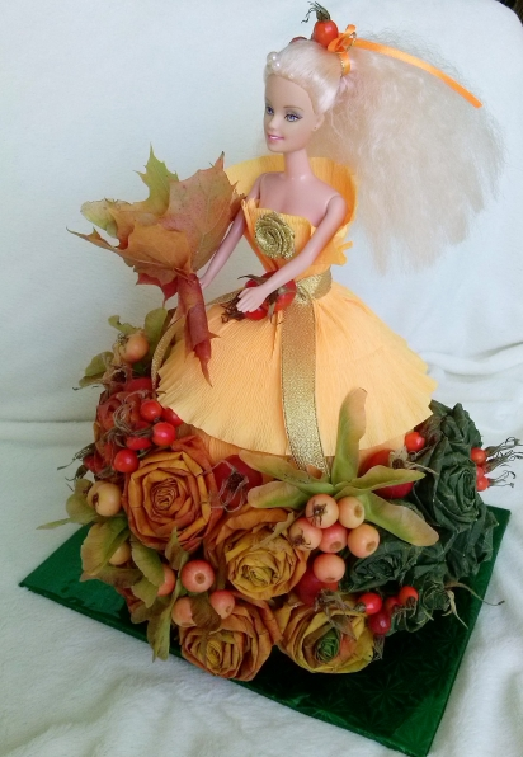 Королева осень поделка своими руками