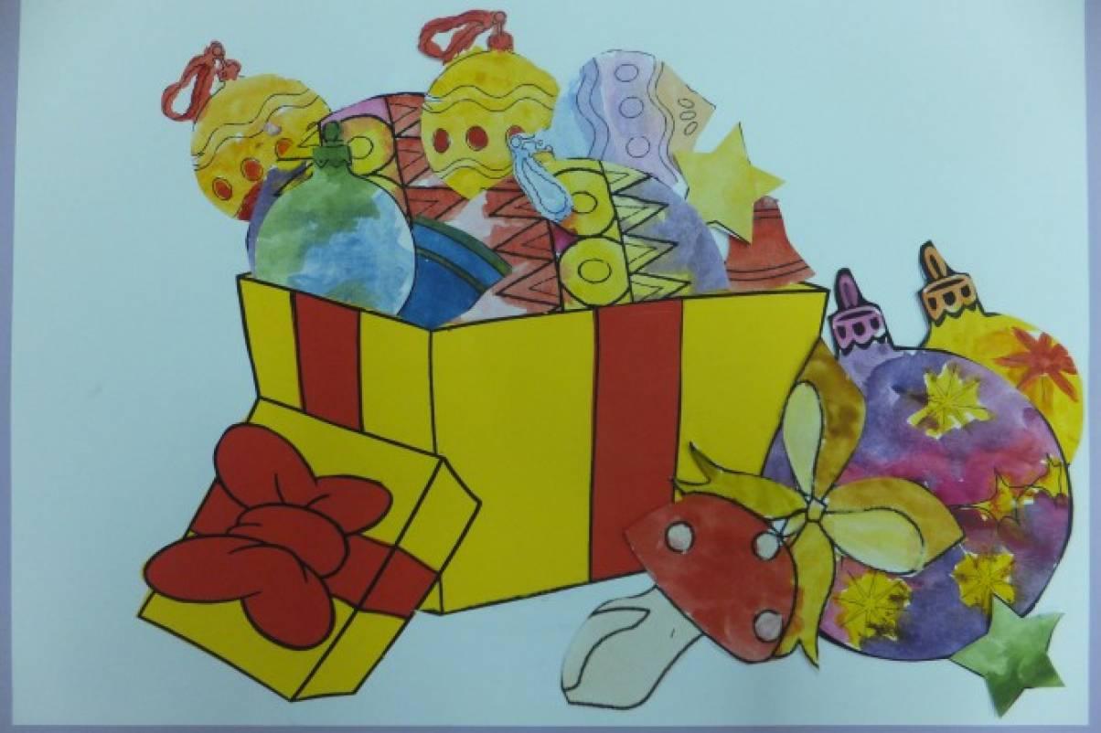 Проект в младшей группе «Новый год»