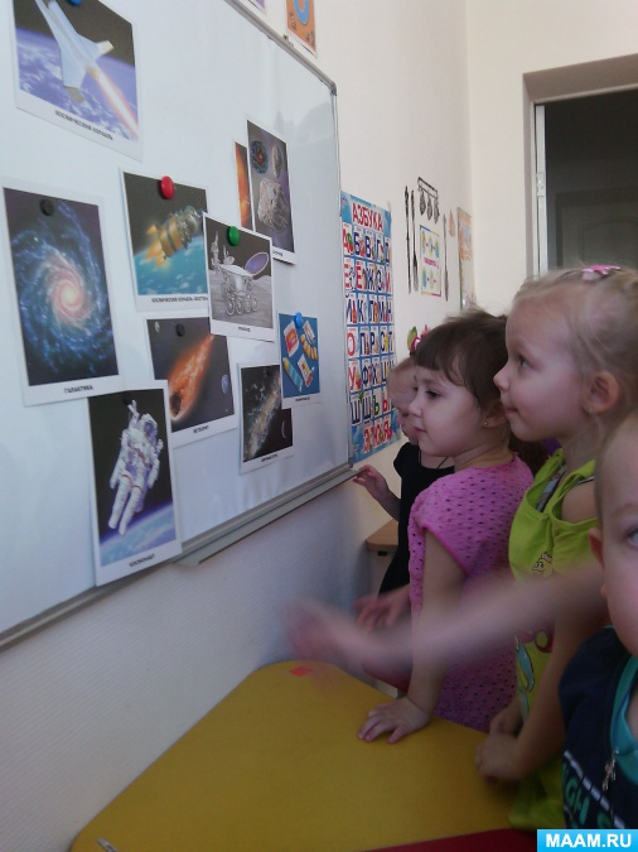 Отчет о проведении тематической недели, посвященной Дню Космонавтики