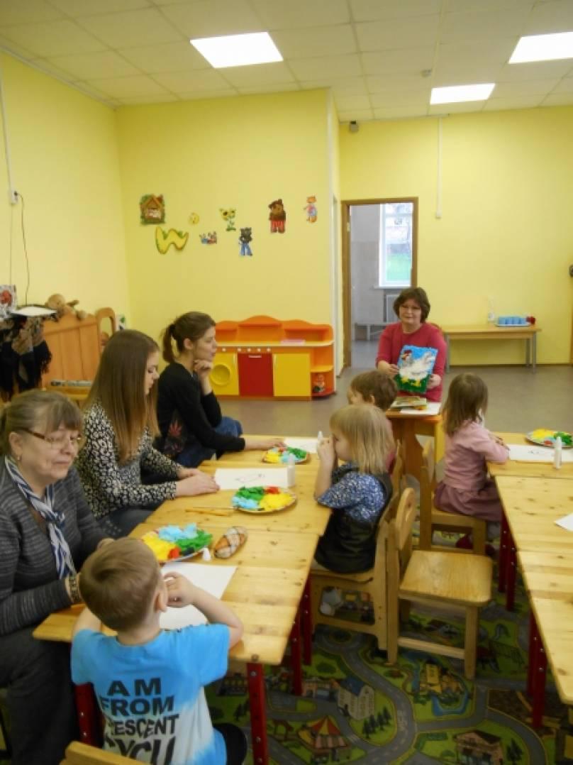 Укрепление взаимосвязи родителей с детьми посредством совместного творчества в ДОУ. Мастер-класс по торцеванию для родителей. Во