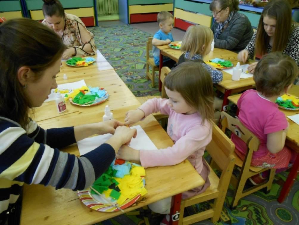 Мастер класс с родителями в группе раннего возраста - Kviv-avto.ru