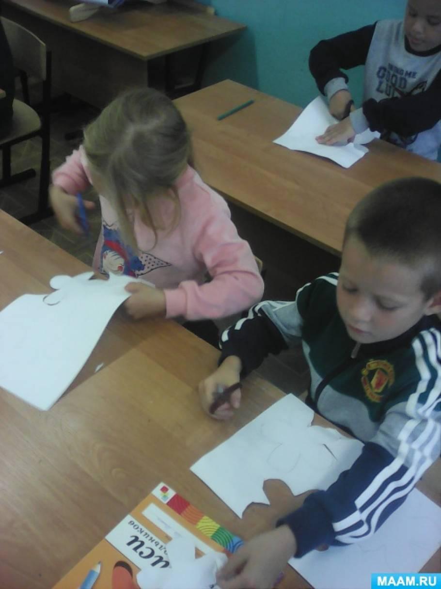 Фотоотчет об акции «Белый цветок» в рамках «Недели добра» в детском саду