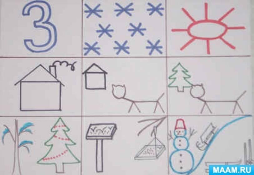 Конспект НОД по развитию речи «Гостья Зима» для старшей группы