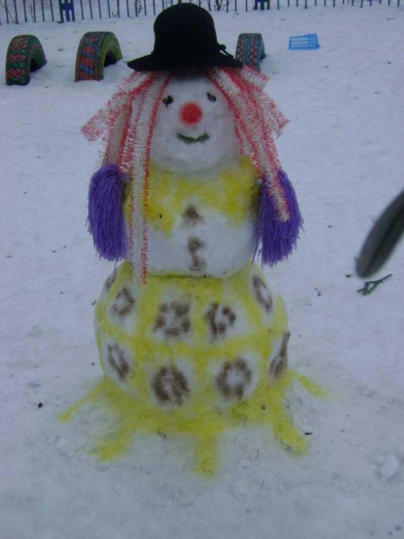 Детские рисунки о зиме новый год