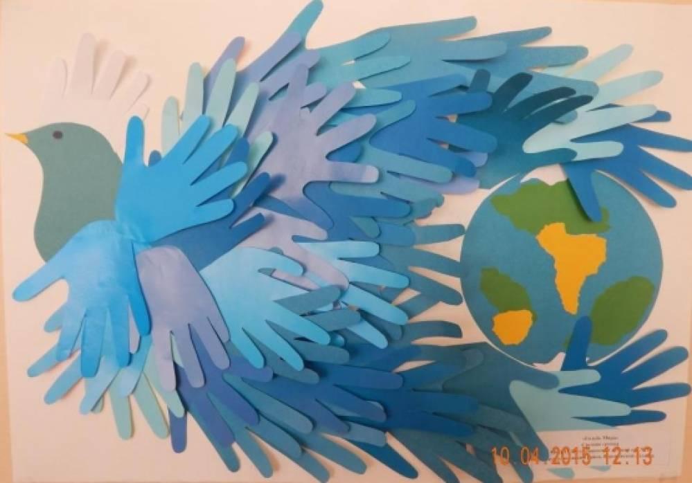 Поделки на тему мира во всем мире