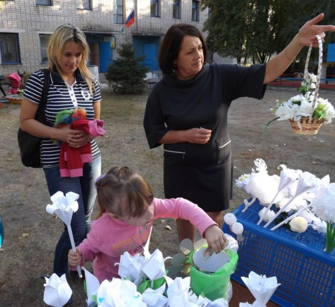 Фотоотчет «День добра» в рамках акции «Белый цветок»