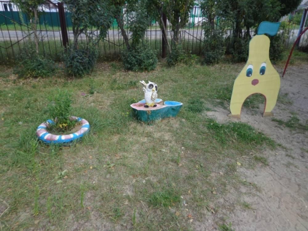 Оформление прогулочных участков в детском саду своими руками