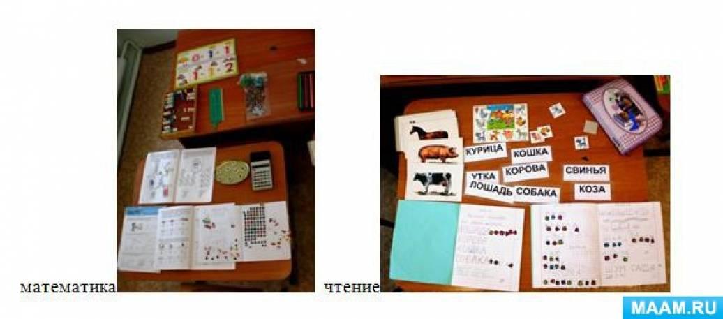 Индивидуальное обучение детей с Рда, ОНР. План открытого интегрированного урока в 6 классе