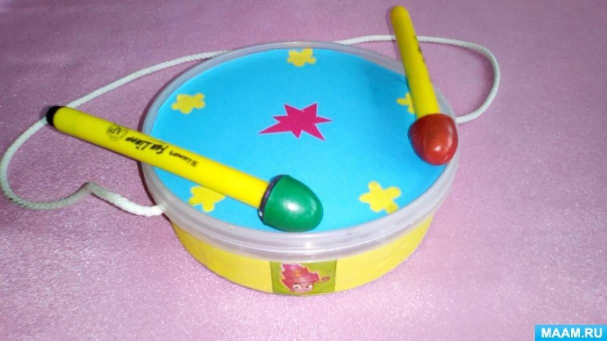 Музыкальные инструменты из бросовых материалов своими руками