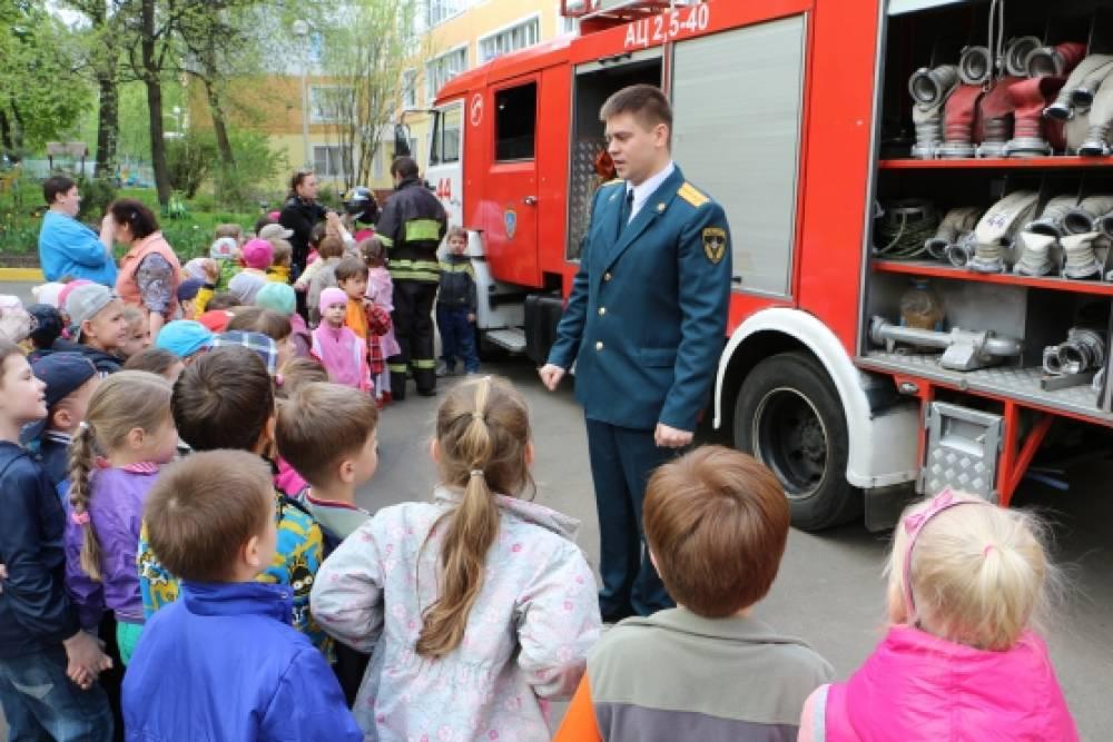 знакомство детей с пожарной безопасностью