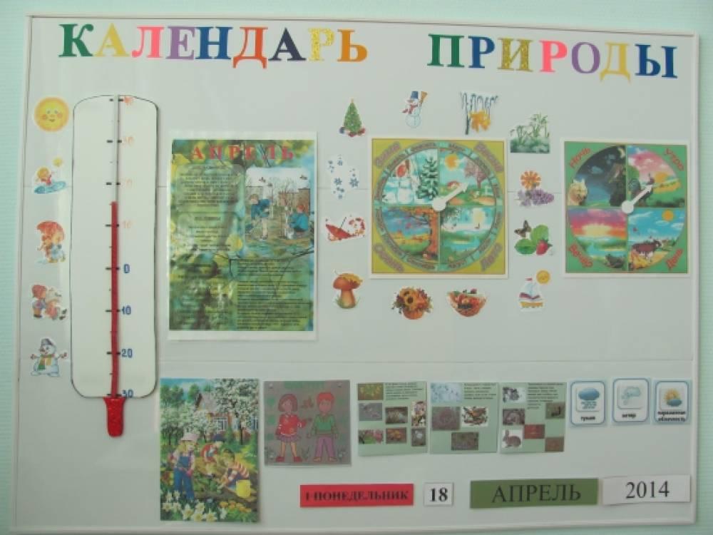 Оформление календаря природы в детском саду своими руками 28
