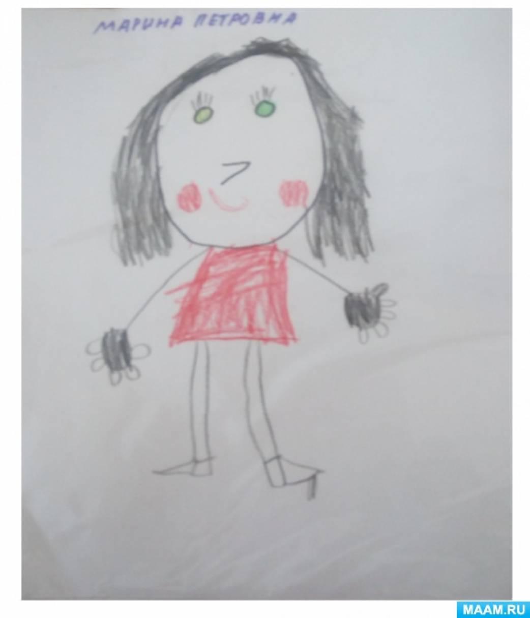 Выставка рисунков на тему «День мам»