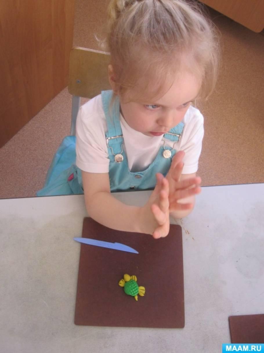 знакомство детей с пластилином конспект