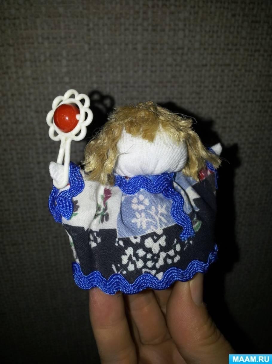 Игровая куколка «Ванька-встанька» по мотивам народной