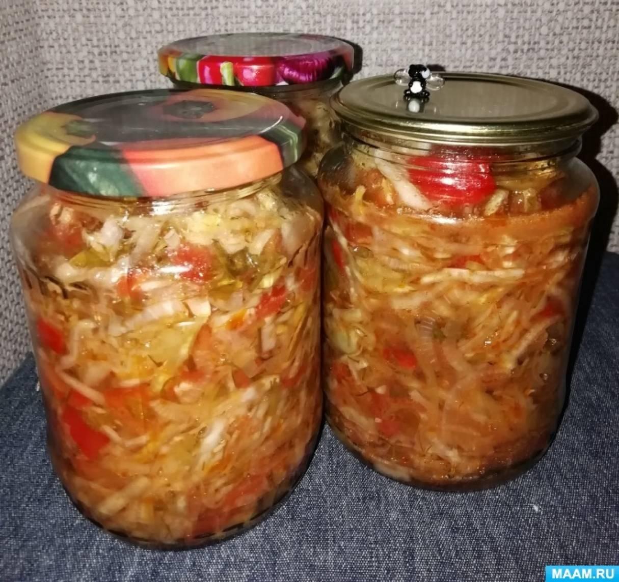 салат кубанский на зиму рецепты с фото тем менее