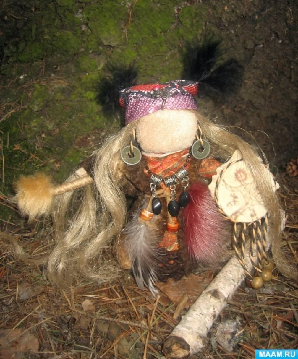 Мастер-класс изготовления куклы-оберега «Шаманочка»