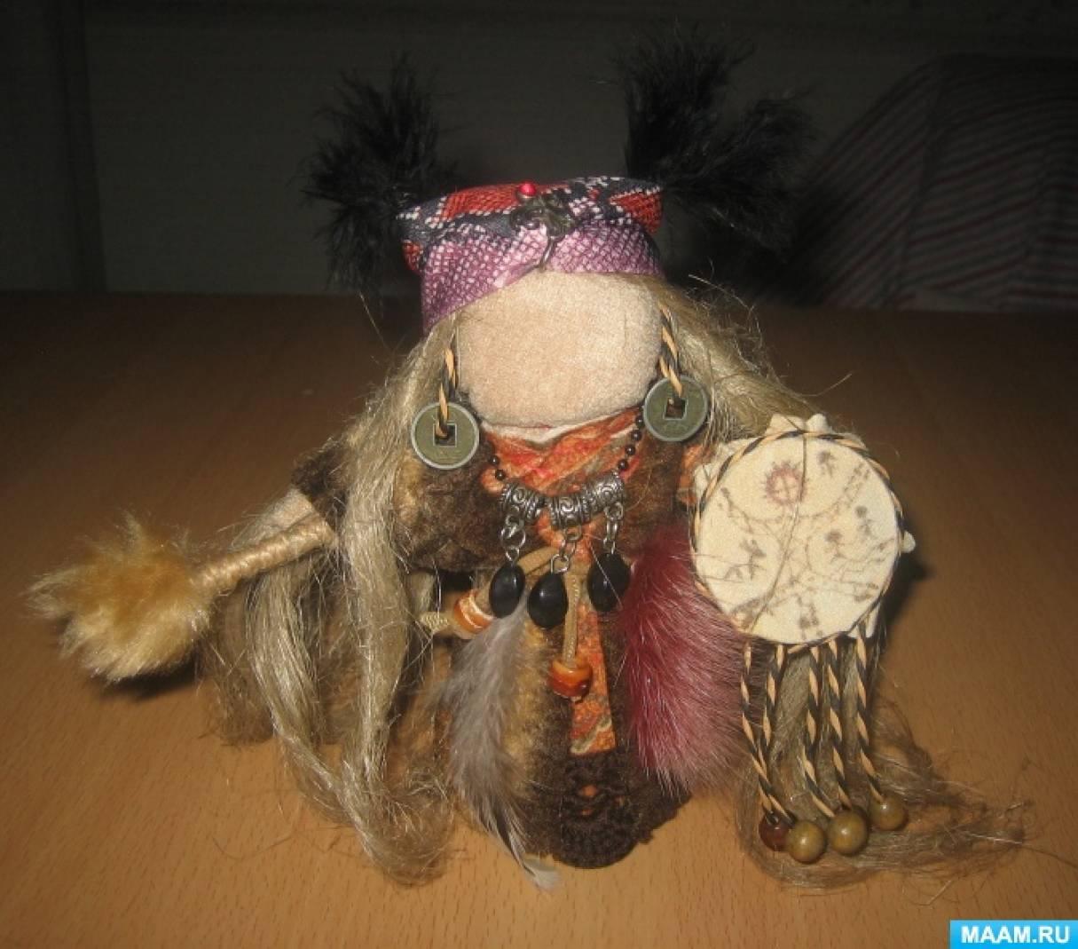 Мастер-класс изготовления куклы-оберега «Шаманочка». Воспитателям детских садов, школьным учителям и педагогам - Маам.ру