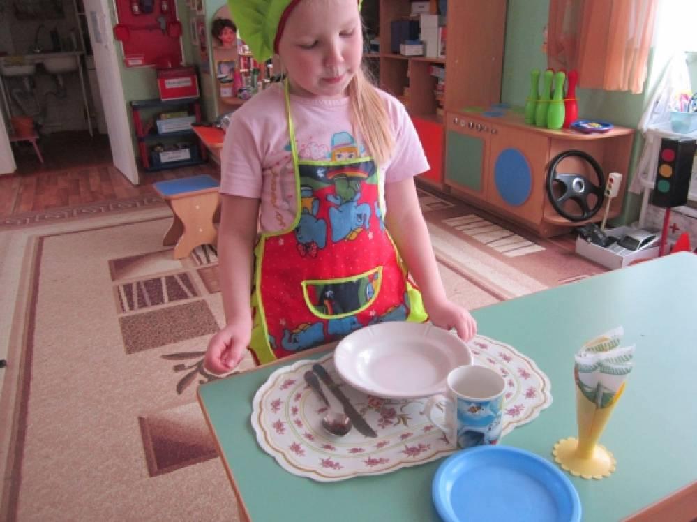 Дежурство в детском саду