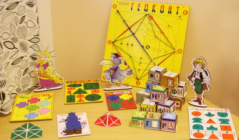 Картотека игр воскобовича на развитие речи