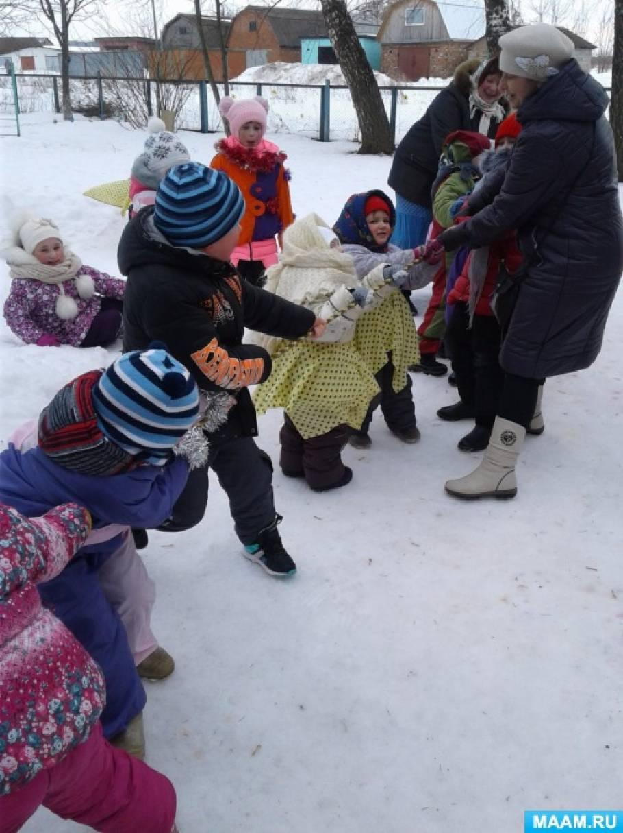 Сценарий праздника «Масленица широкая» для дошкольников 3–7 лет