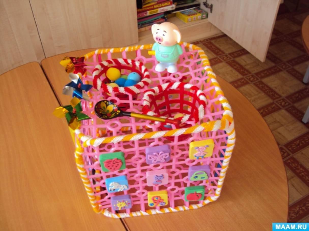 Сенсорный куб «Малышок»