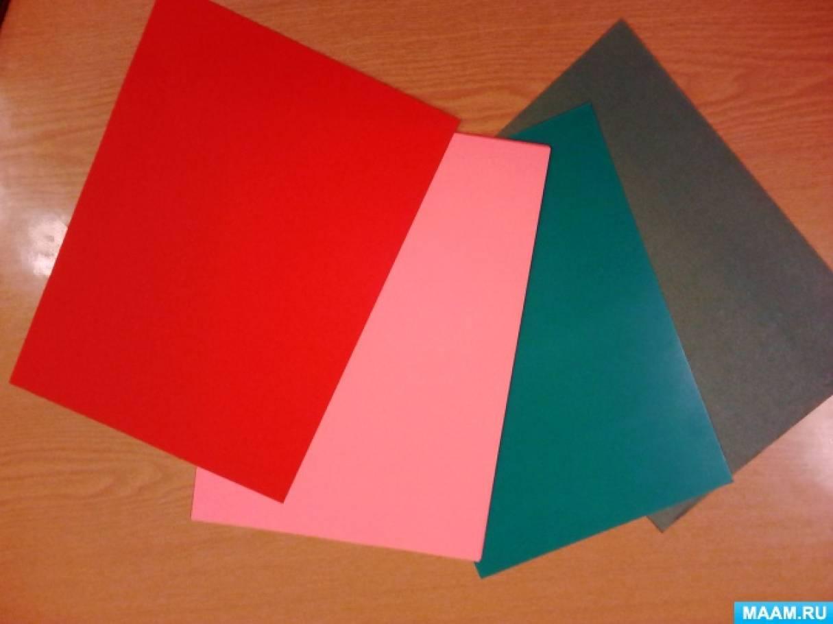 Цвет картона открытки, мишками день