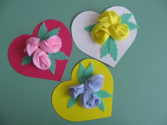 Поделки цветы для мамы своими руками из бумаги