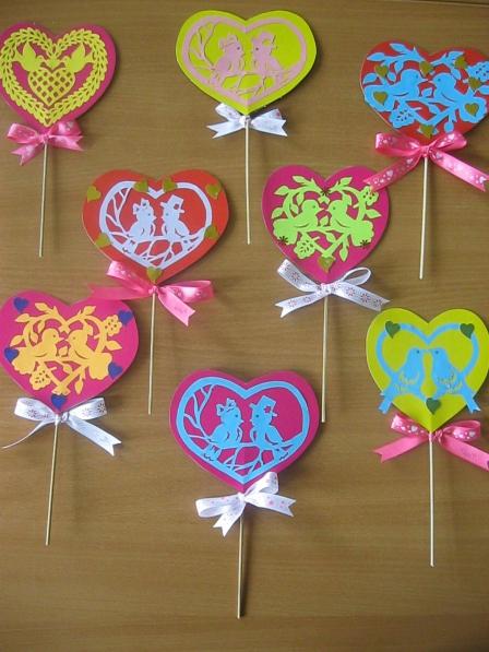 Поделки к дню влюбленных своими руками для детского сада